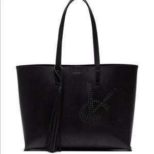 Saint Laurent tote in black, used